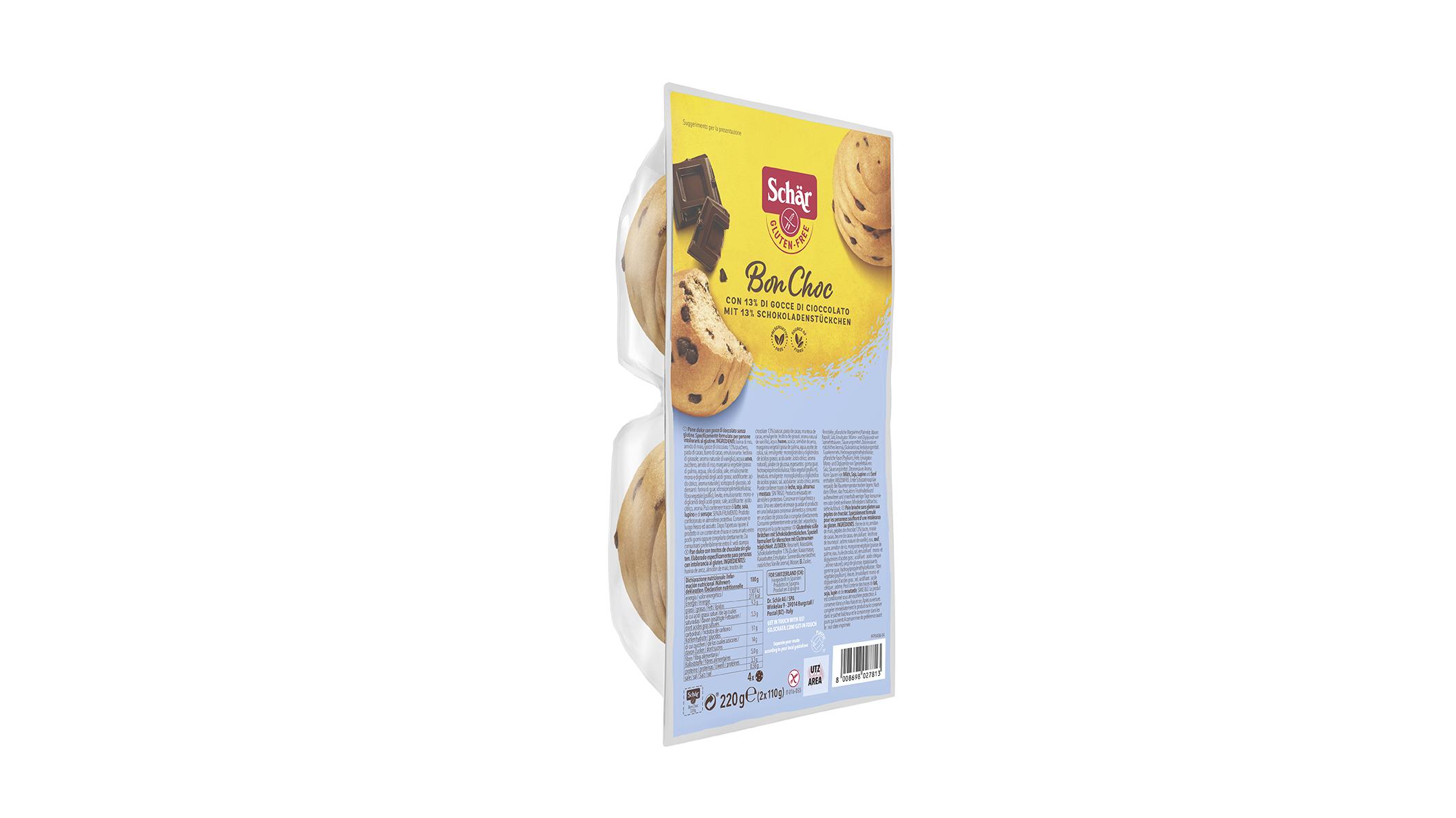Brezglutenske bombetke s čokolado – Bon Choc