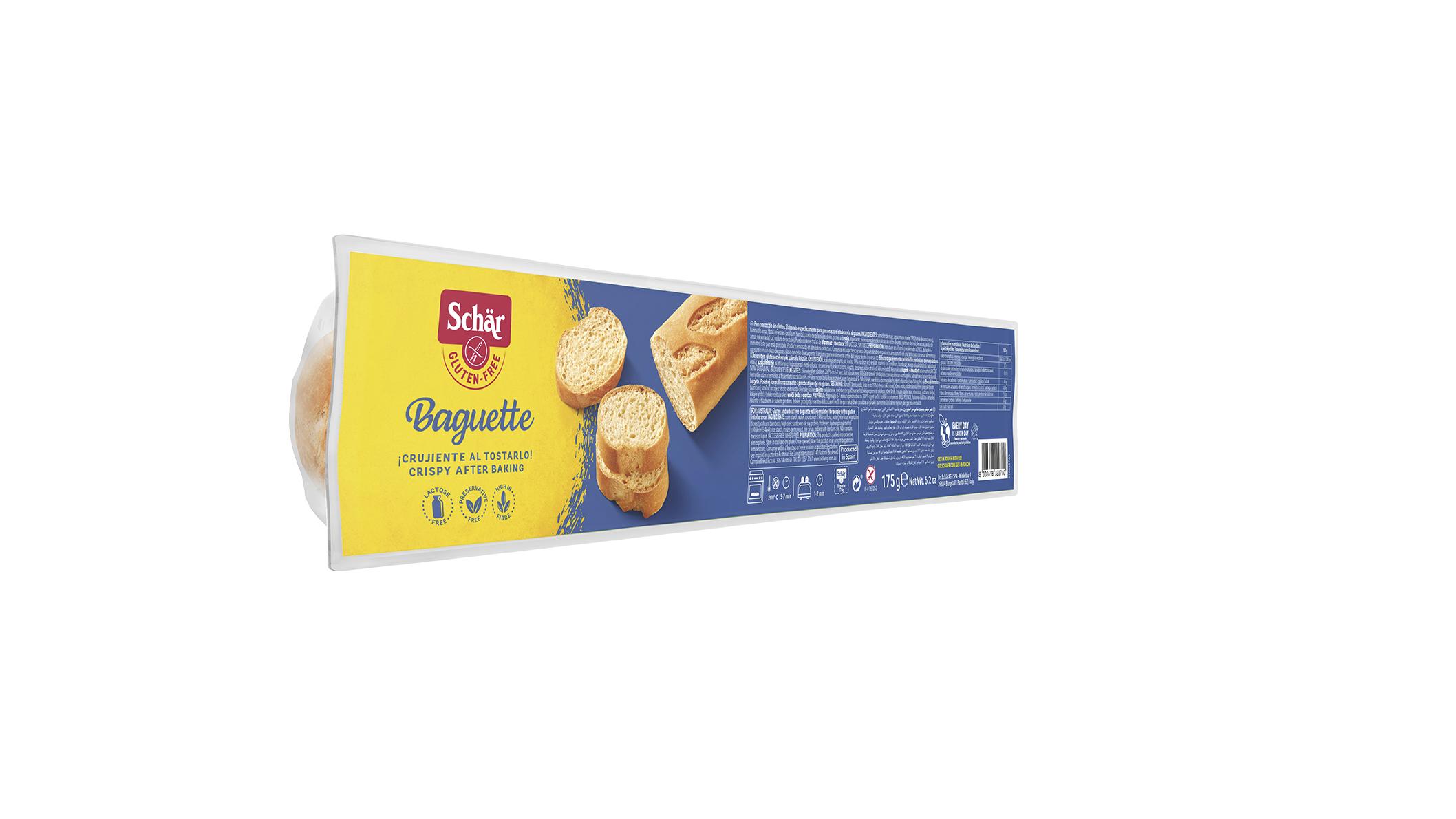Brezglutenska francoska štruca – Baguette