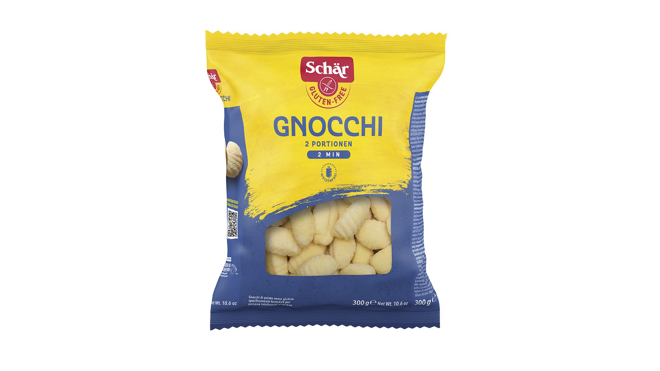 Brezglutenski njoki – Gnocchi