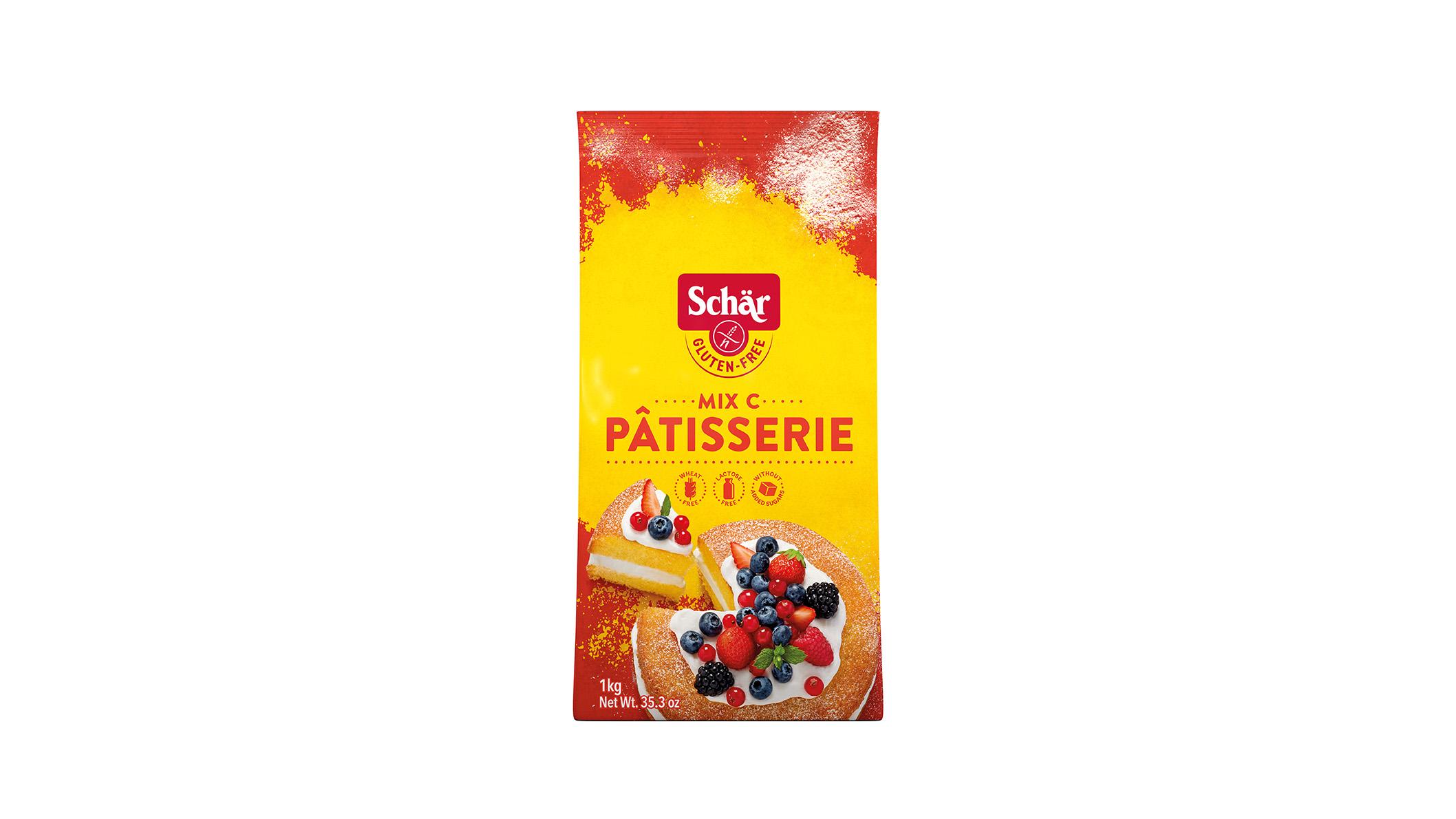 Brezglutenska mešanica – Mix Pâtisserie – Mix C