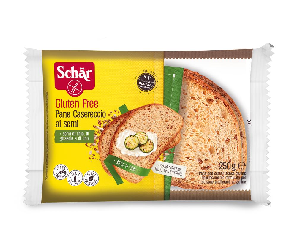 Brezglutenski kruh s semeni – Pane Casereccio ai Semi