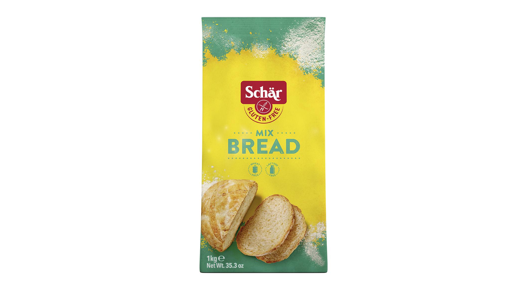 Brezglutenska mešanica – Mix B – Bread-Mix