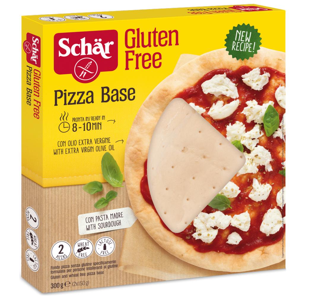 Brezglutensko testo za pico – Pizza Base