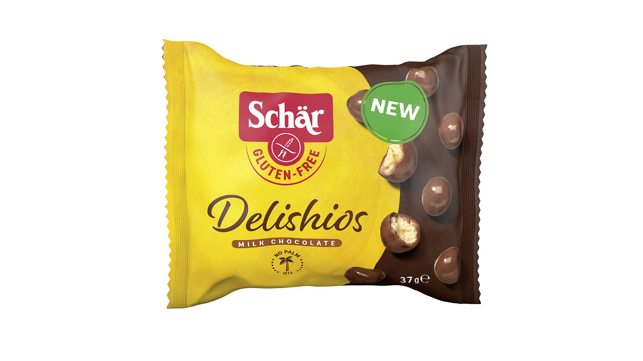 Brezglutenske čokoladne kroglice – Delishios 37g