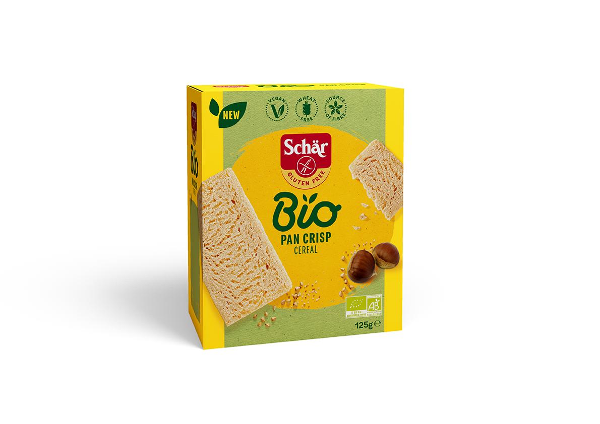 Bio brezglutenski hrustljavi kruhki – Pan Crisp Cereal