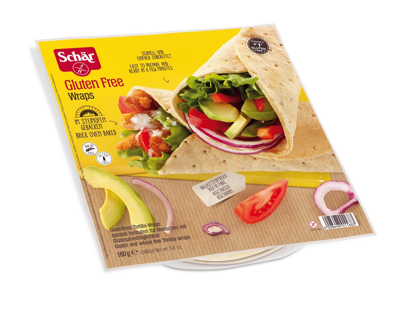 Brezglutenske tortilje – Wraps