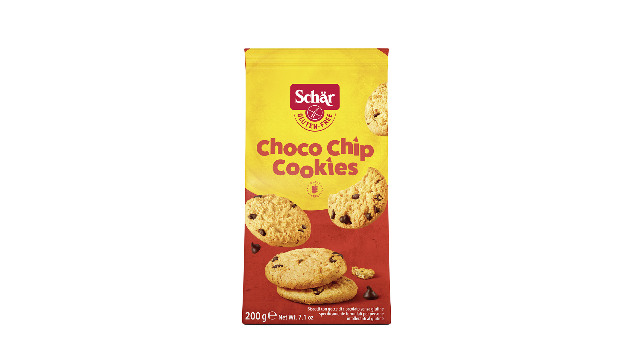Brezglutenski ameriški piškoti s koščki čokolade – Choco Chip Cookies