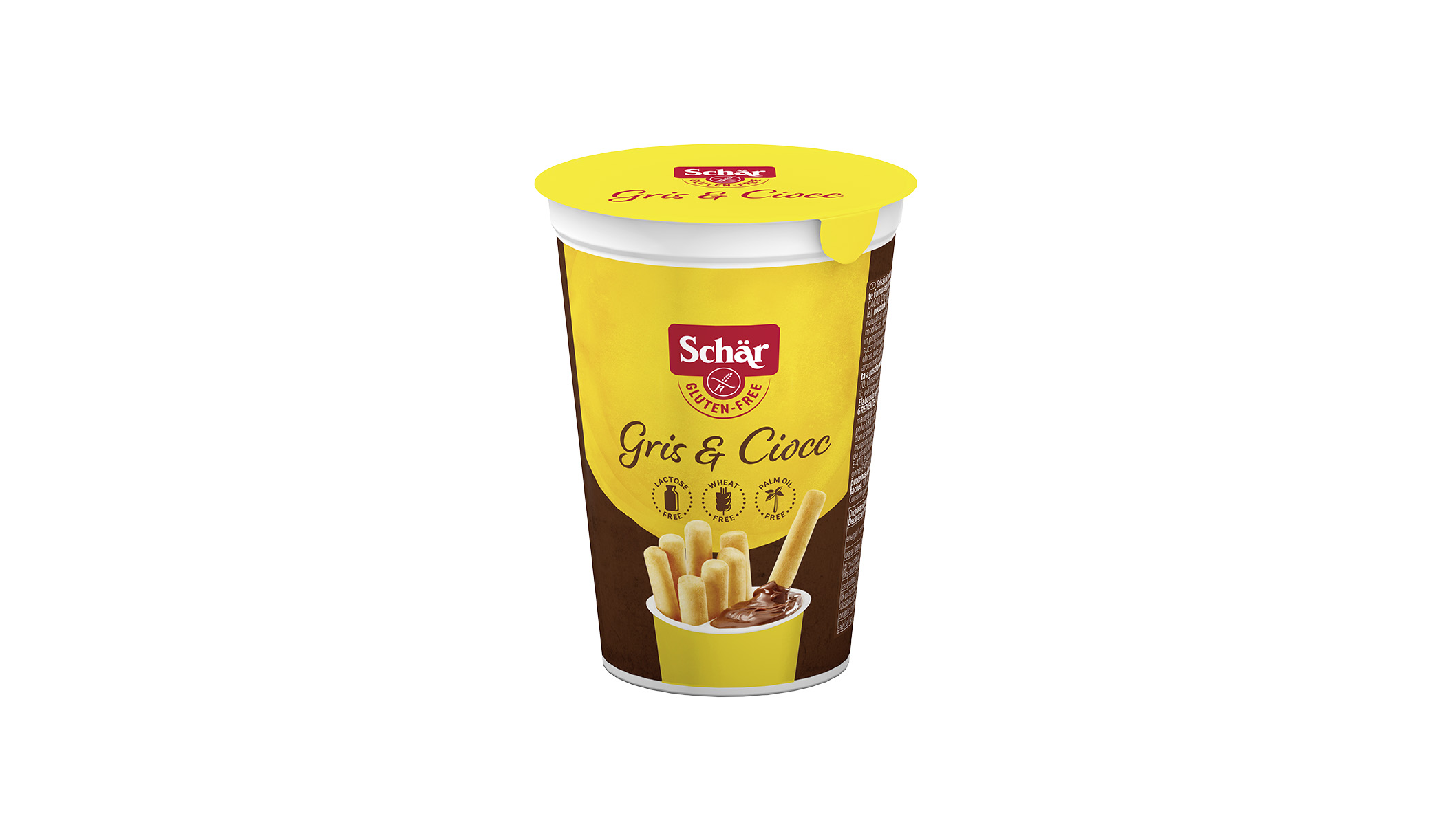 Brezglutenski grisini s čokoladno kremo – Gris & Ciocc