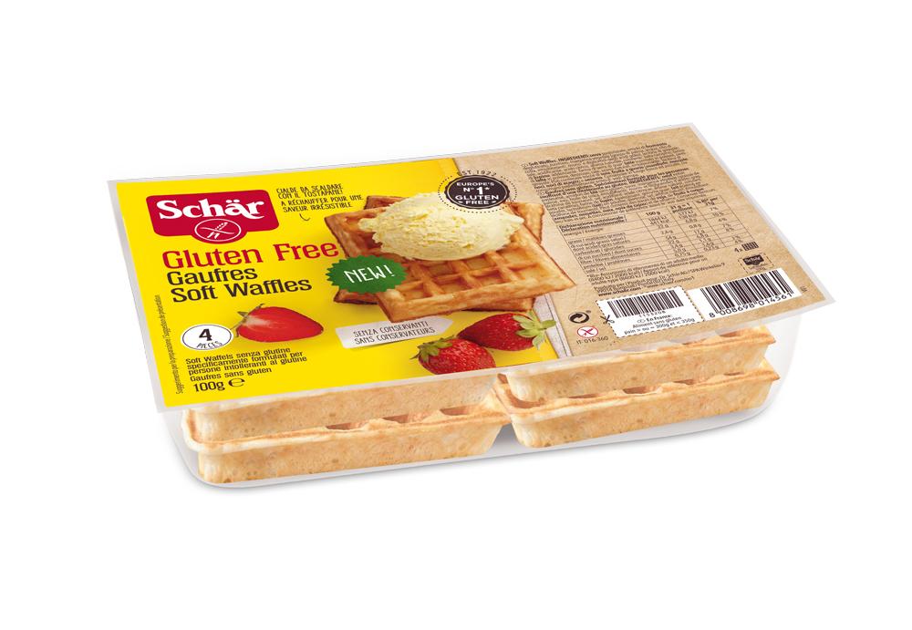 Brezglutenski sladki vaflji - Waffles