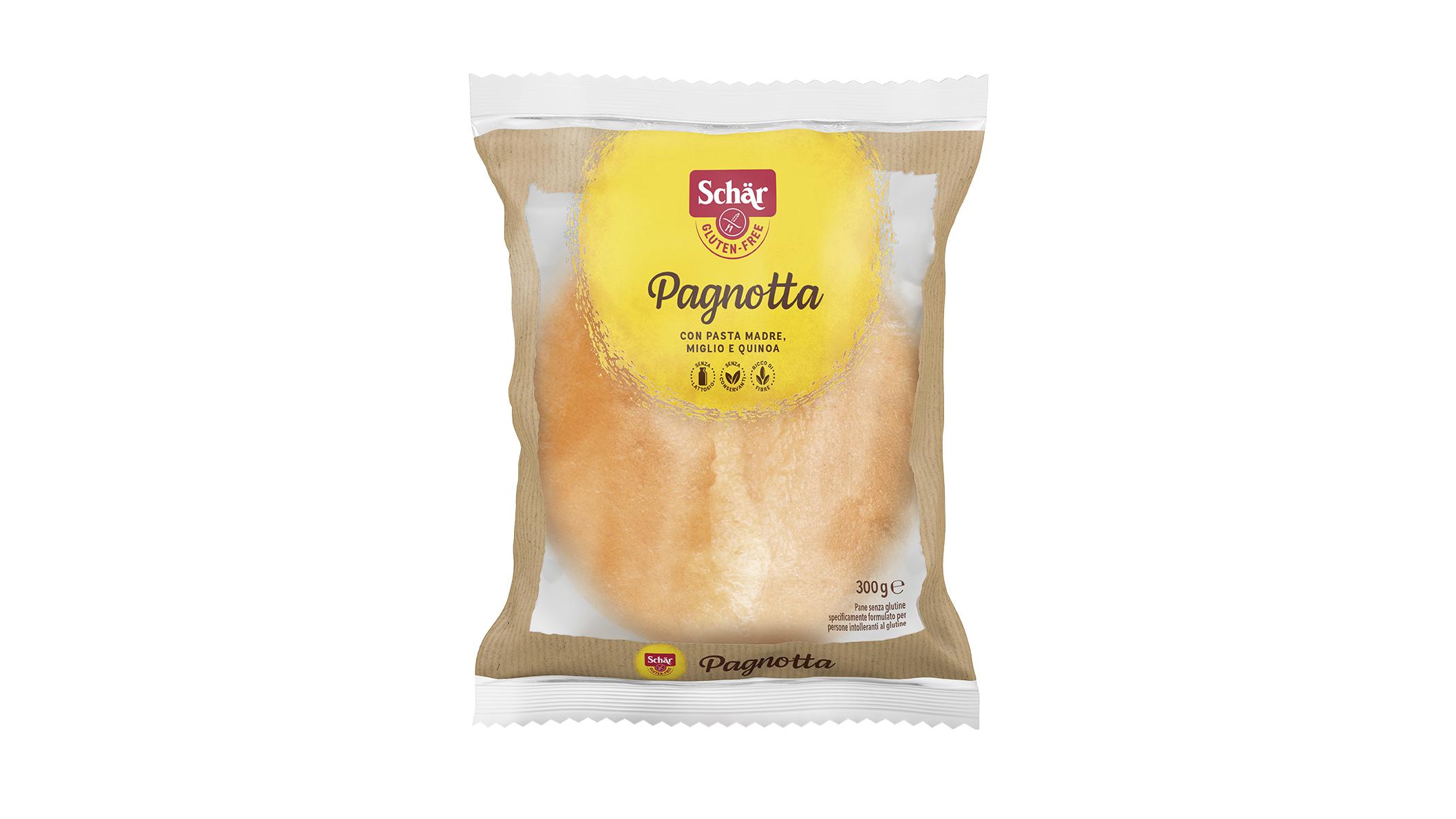 Brezglutenski kruh v štruci – Pagnotta